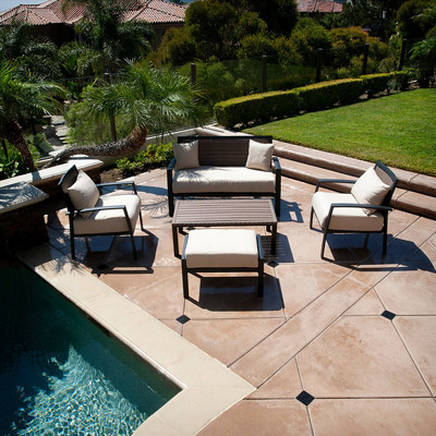 Zen Deep Seating Collection - 5pc Set