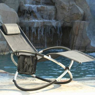 Orbital Lounger - Alum. (Black)