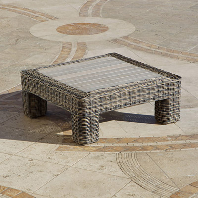 Weathered Grey Resort Table