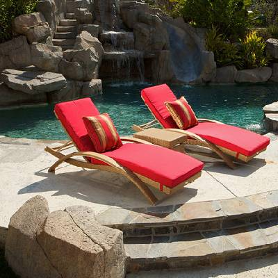 Cantina Arc Lounger Set Cushion (2pk)
