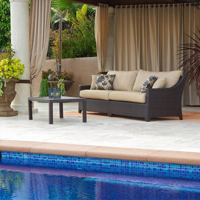 Delano ™ Outdoor Sofa with Coffee Table Set